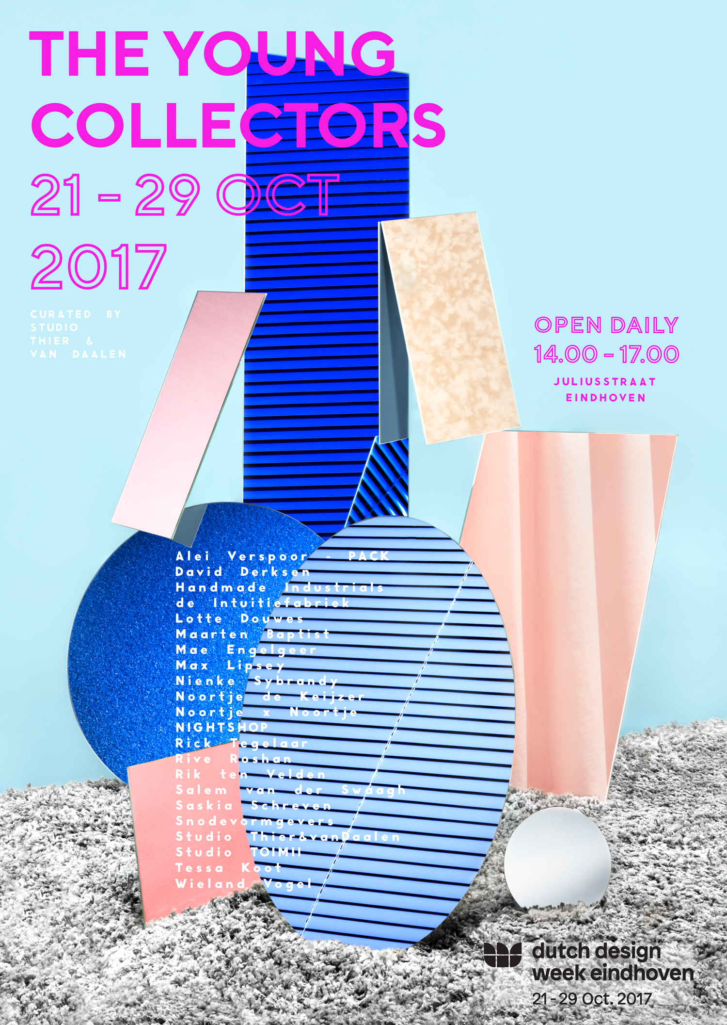Poster_THEYOUNGCOLLECTORS_DDW17_Studio_Thier&vanDaalen_Low