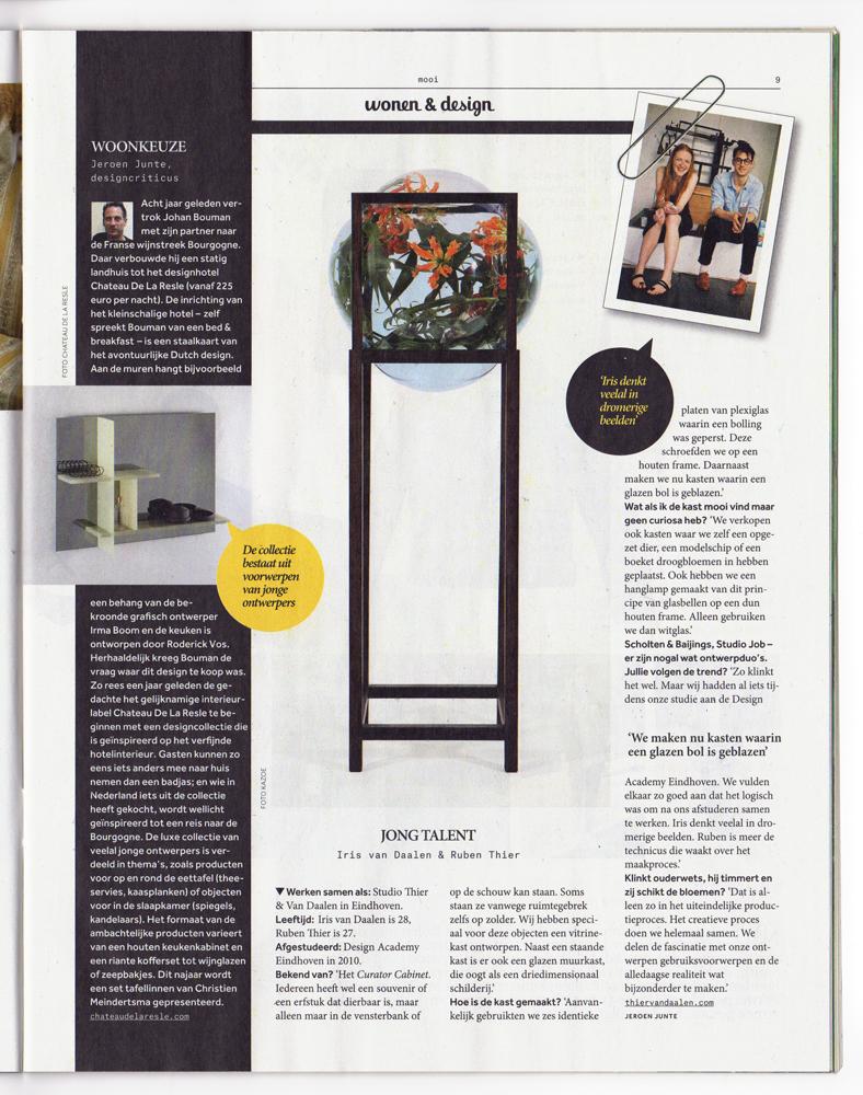 2014-08-30 Volkskrant Magazine-Wonen en Design-Jeroen Junte-Studio-Thier&VanDaalen-web