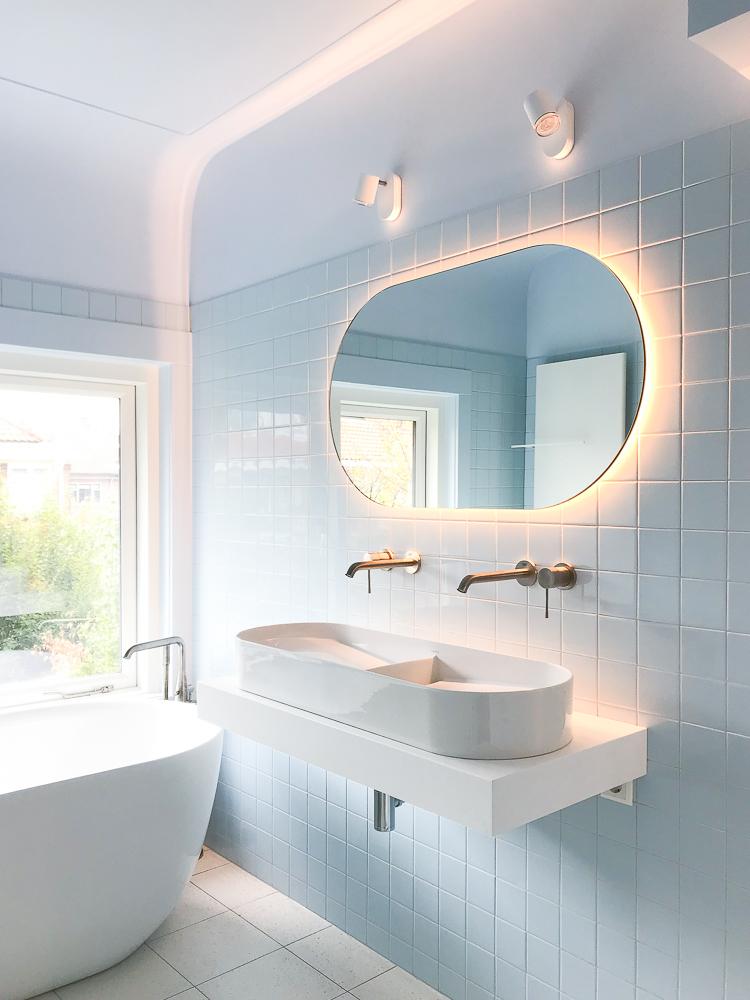 Sunrise Bathroom Mirror Oval Studio Thier Vandaalen