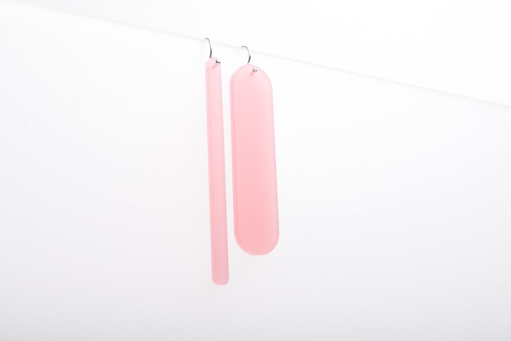 Satin GEO Earrings | studio Thier&vanDaalen